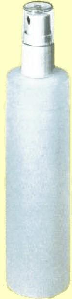 Spray bottle for debubblizer